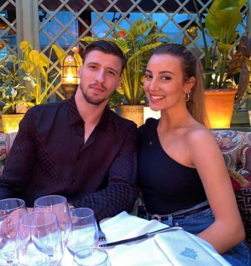 Ruben Dias Dating, Girlfriend, Partner