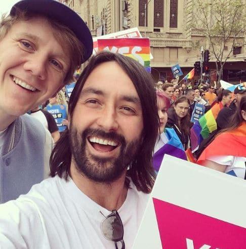 Josh Thomas Dating, Partner, Gay