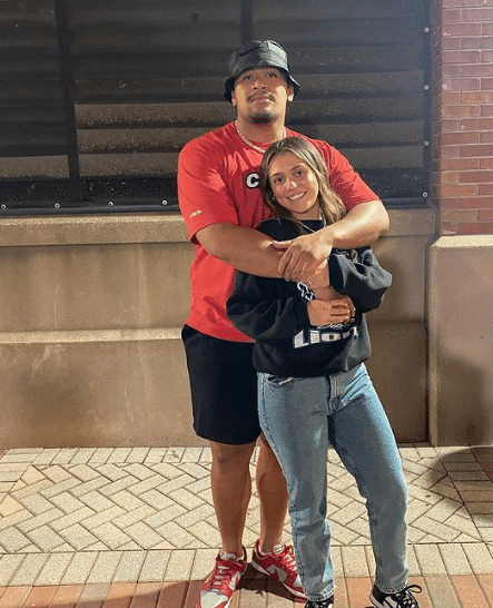 Penei Sewell Dating, Girlfriend, Partner
