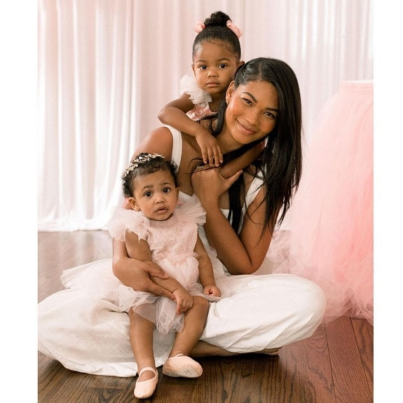 Chanel Iman daughters