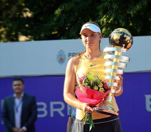Elena Rybakina WTA title