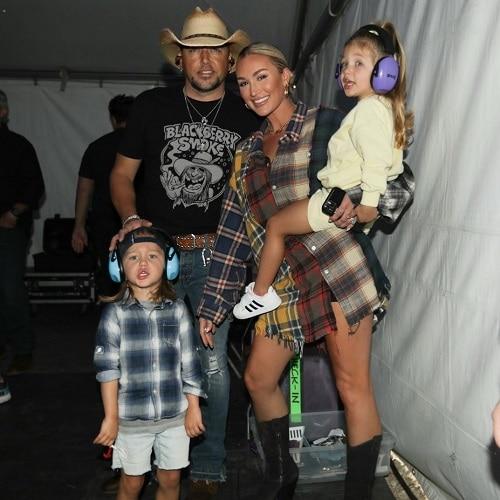 Jason Aldean wife, children