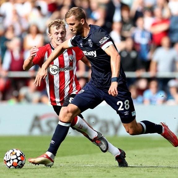 Tomas Soucek West Ham United